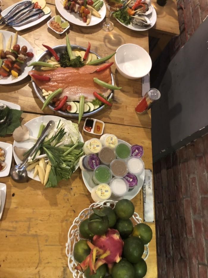 Món ngon mỗi ngày Buffet nướng hải sản lẩu nướng trưa, tối HCM12