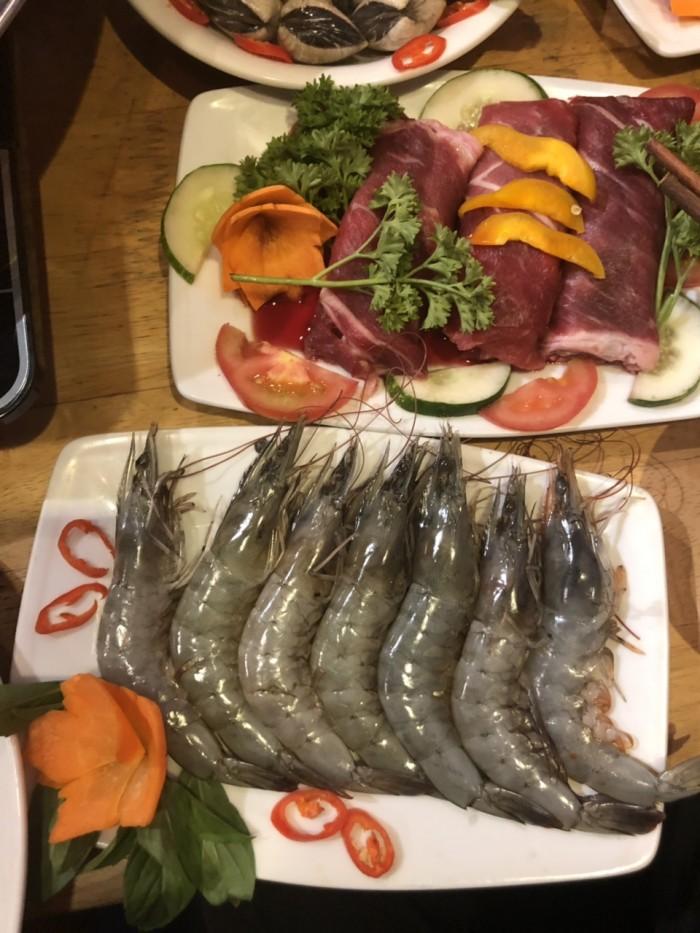 Món ngon mỗi ngày Buffet nướng hải sản lẩu nướng trưa, tối HCM14