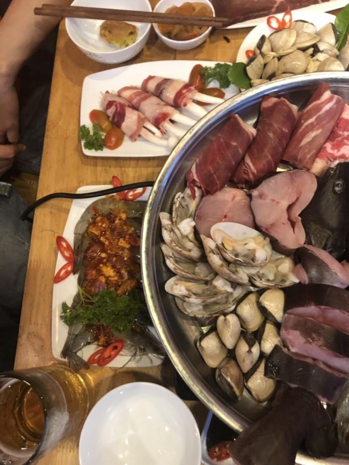 Món ngon mỗi ngày Buffet nướng hải sản lẩu nướng trưa, tối HCM15