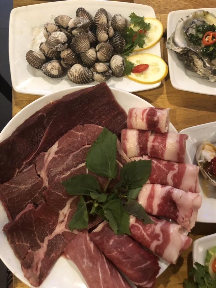 Món ngon mỗi ngày Buffet nướng hải sản lẩu nướng trưa, tối HCM5