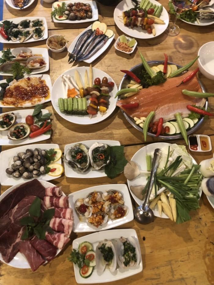 Món ngon mỗi ngày Buffet nướng hải sản lẩu nướng trưa, tối HCM11