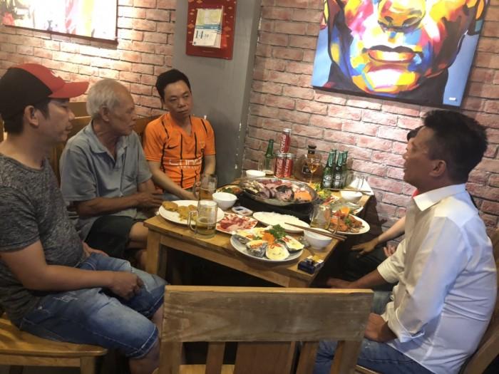 Buffet Hải Sản Nướng Lẩu HCM Nhà hàng Saigon Marvel Hostel giá rẻ15