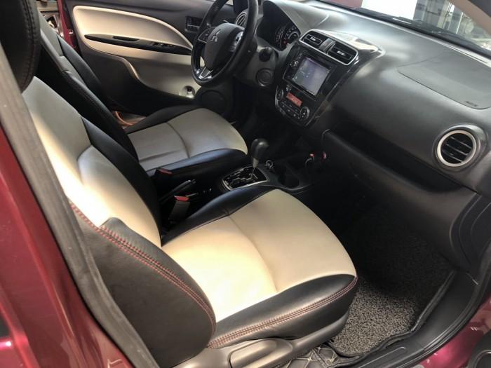 Bán Mitsubishi MirageGLS 1.2AT màu đỏ số tự động nhập Thái Lan 2016 một đời chủ