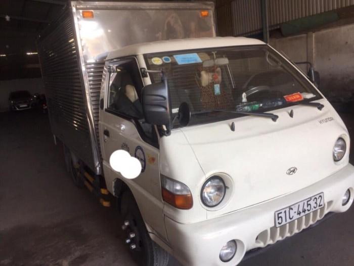 Bán xe tải hyundai porter h100 đời 2010 thùng kín