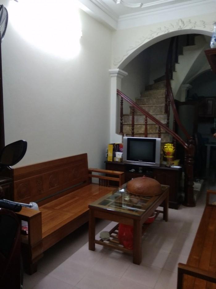 Hiếm có hiếm có, nhà khu Giáp Bát, Trương Định, ô tô đỗ cửa, 3 tầng, chắc chắn 25m2
