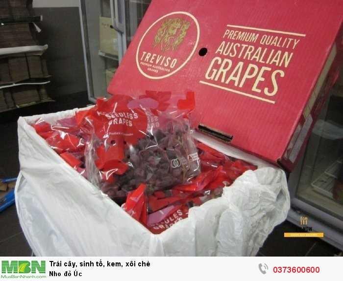 Nho đỏ Úc giá bao nhiêu