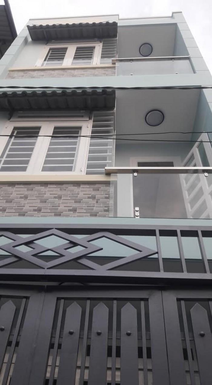 Nhà bán đường Đỗ Phúc Thịnh, p12 Gò vấp ,dt,4x12 đúc 2 lầu