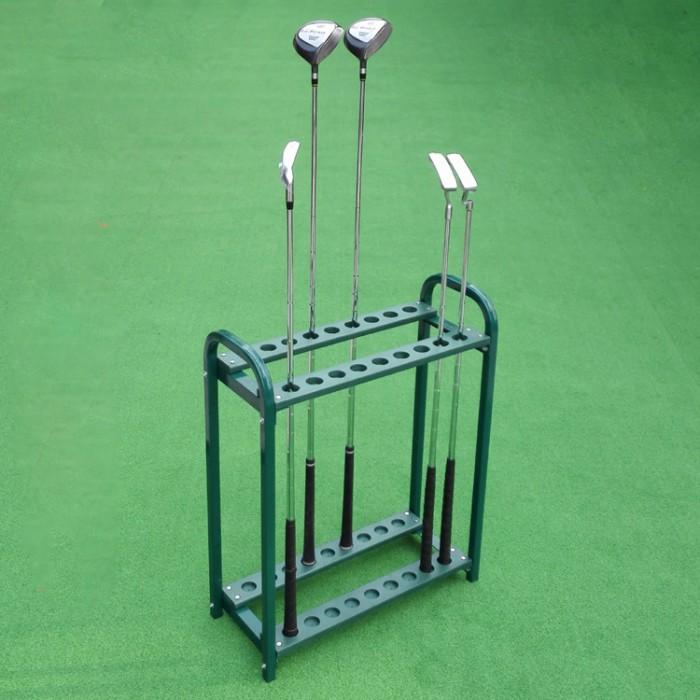 Giá để gậy golf để được 18 gậy màu đen0