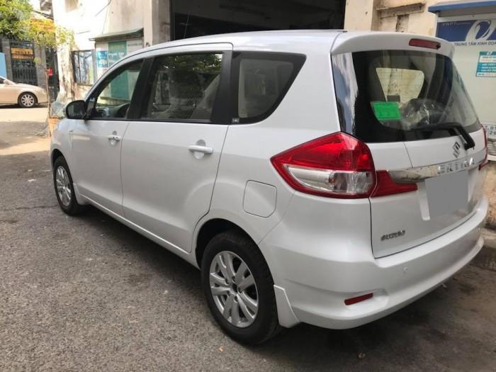 Bán Suzuki Ertiga 2017 tự động nhập Indonesia màu trắng rất đẹp