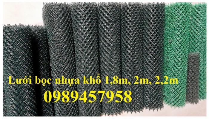 Lưới b40 bọc nhựa mới 100%, Lưới rào B40 bọc nhựa, mạ kẽm13