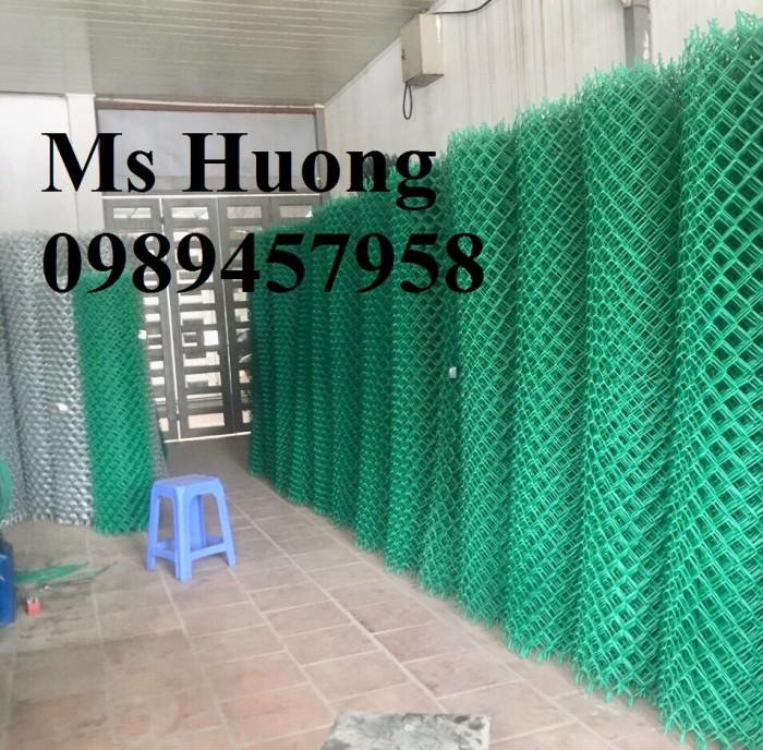 Lưới b40 bọc nhựa làm sân tennis2