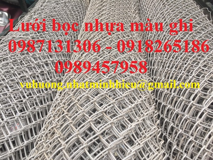 Lưới b40 bọc nhựa làm sân tennis0