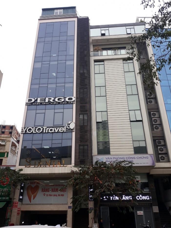 Bán nhà MẶT PHỐ Yên Lãng, Đống Đa x Vị trí tuyệt đẹp x 10 tầng x MT 8m