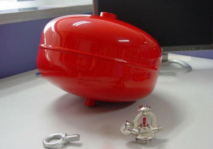 Bình chữa cháy quả cầu tự động 6kg.