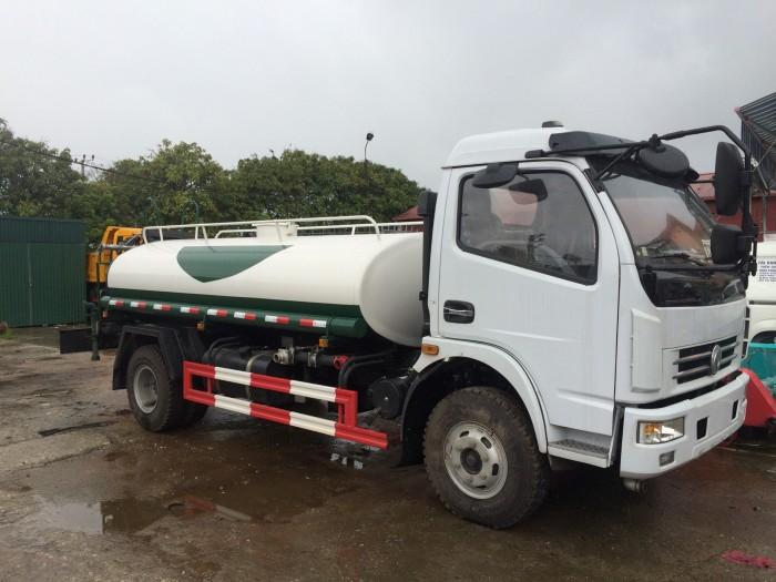 Bán xe téc phun nước tưới cây rửa đường Dongfeng 5 khối ( m3 )