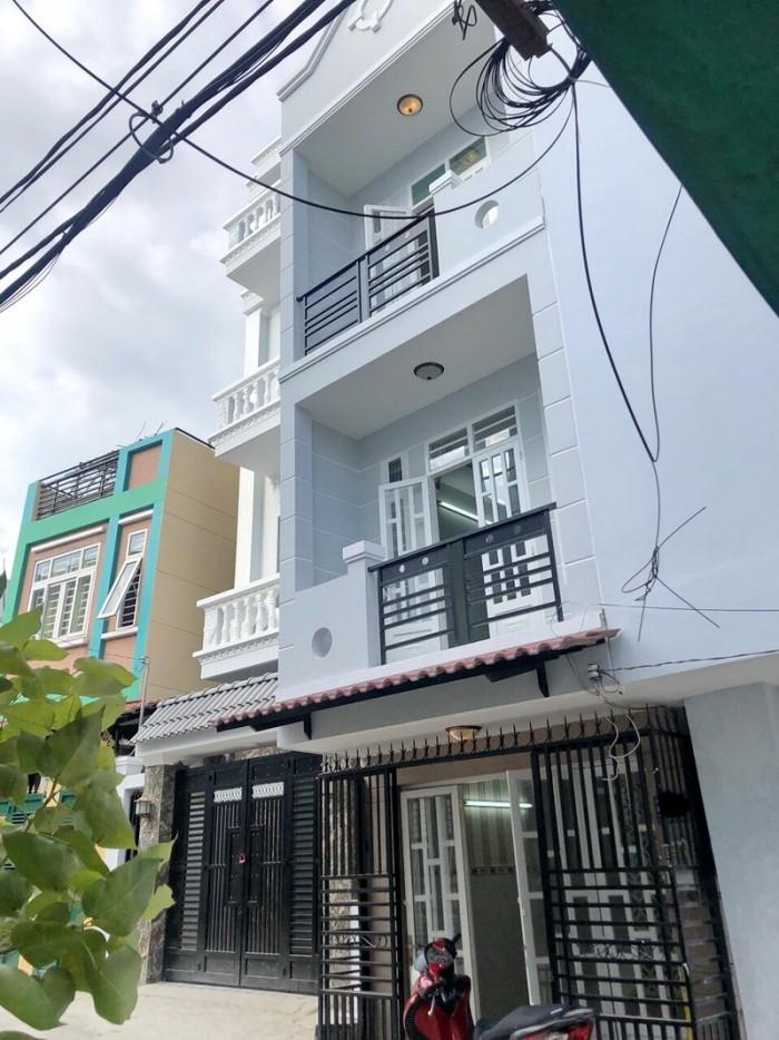 Bán nhà hẻm 6m xe hơi tới nhà 28 Đào Tông Nguyên Thị Trấn Nhà Bè.