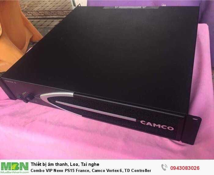 Combo VIP Nexo PS15 France, Camco Vortex 6, TD Controller3