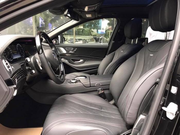 Mercedes S600 Maybach sản xuât 2015,đăng ký 2017,màu đen,lăn bánh 6000 km,xe như mới,biển Hà Nội