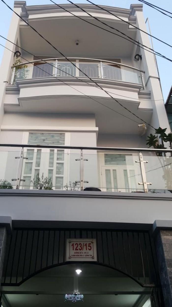 Bán nhà 123/15 đường số 8 quận Bình Tân
