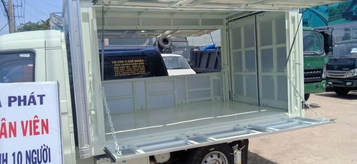 Xe tải kenbo thùng cánh dơi, trả góp nhanh