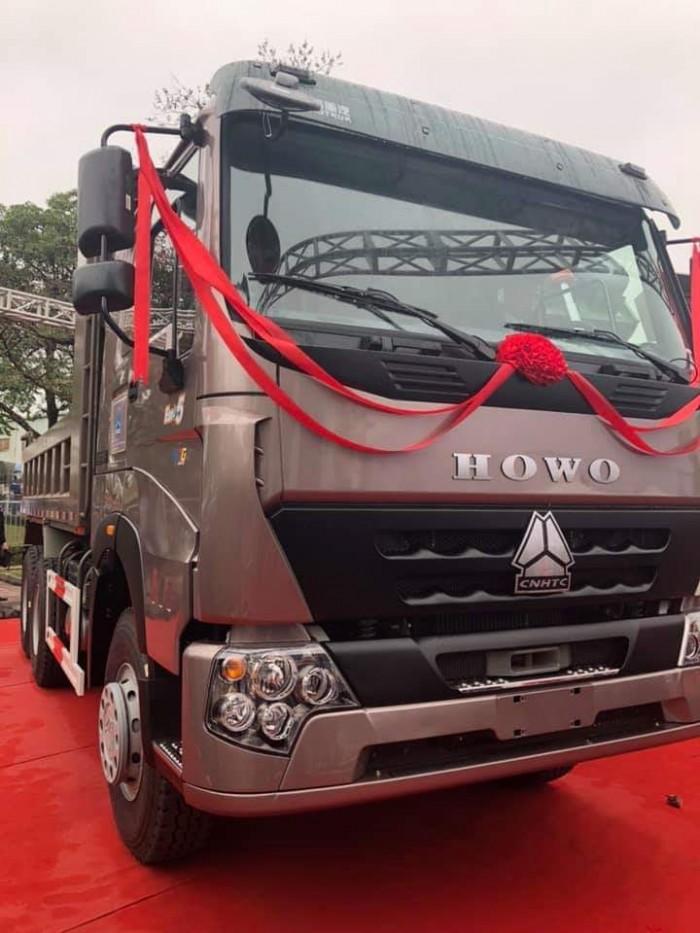 Bán xe Howo 3 chân đời 2019, tải trọng 24T.