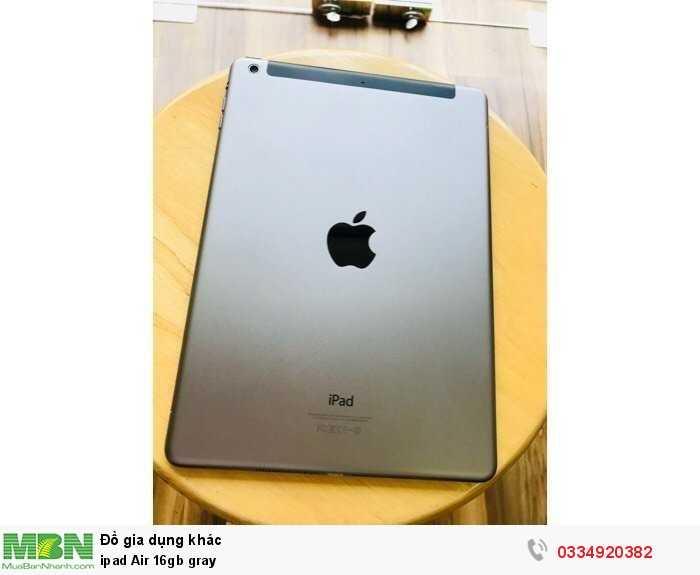 Ipad Air 16gb gray2