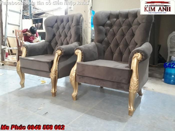 mẫu ghế sofa cổ điển Long An8