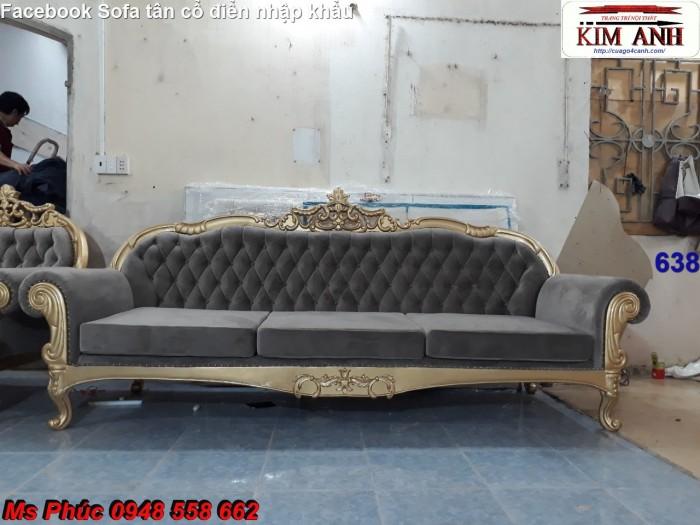 bộ bàn ghế gỗ tân cổ điển6