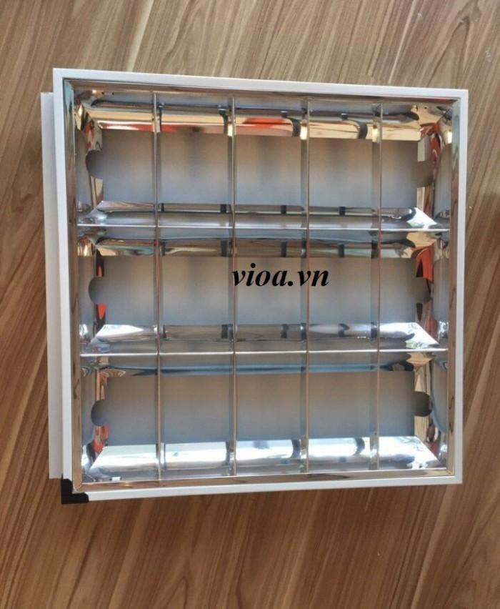 máng đèn led - máng đèn led âm trần 600x6000