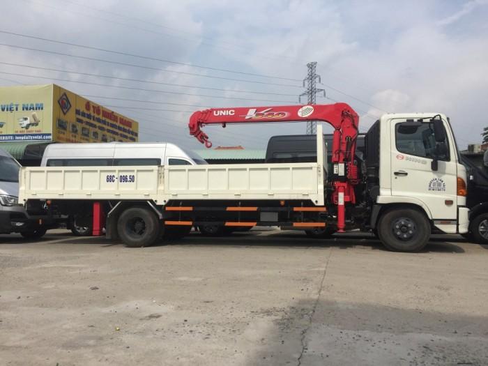 Xe tải gắn cẩu hino - bán xe tải cẩu hino- xe tải hino gắn cẩu