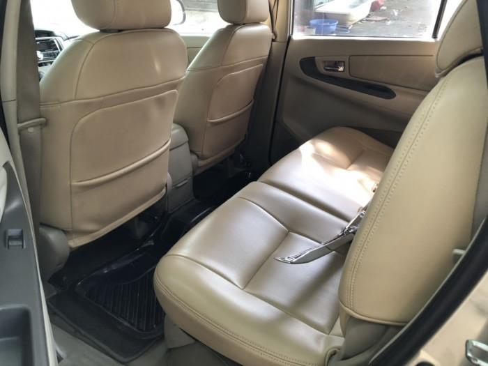 Bán Toyota INNOVA 2.0E màu vàng cát số sàn sản xuất 2014 mẫu mới 1 đời chủ