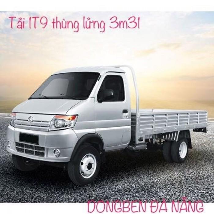 Xe Dongben 870kg, điều hòa, kính điện, máy xăng, hổ trợ trả góp.