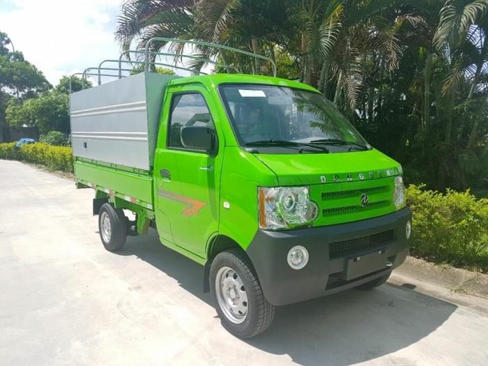 Xe Dongben 870kg, điều hòa, kính điện, máy xăng, hổ trợ trả góp. 2