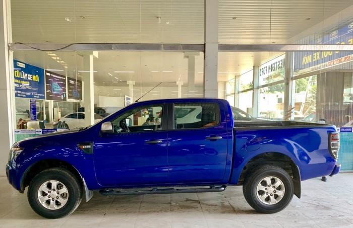 Ranger XLS MT, 2015, màu xanh biển, xe đẹp có bảo hành, trả góp vô tư