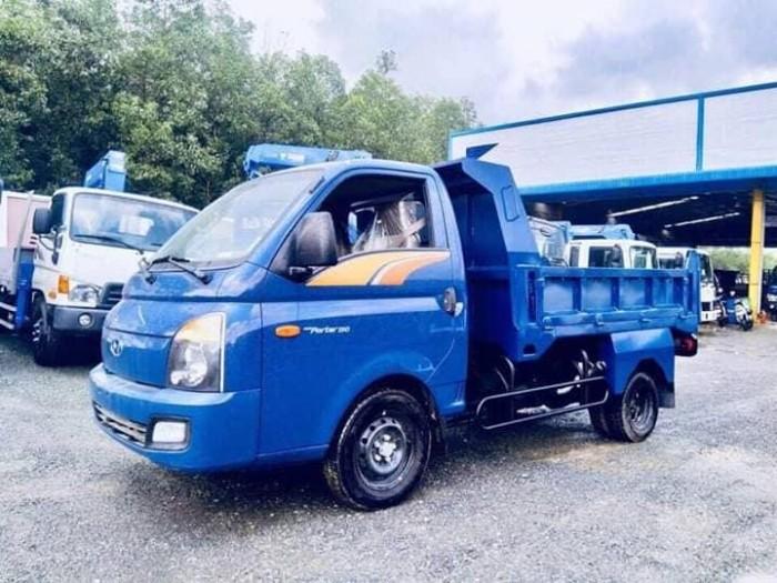 Xe Tải Hyundai H150 Ben Tự Đổ 1.5 Tấn ( 1.7 M3 ) - Chuyên Vào Thành Phố
