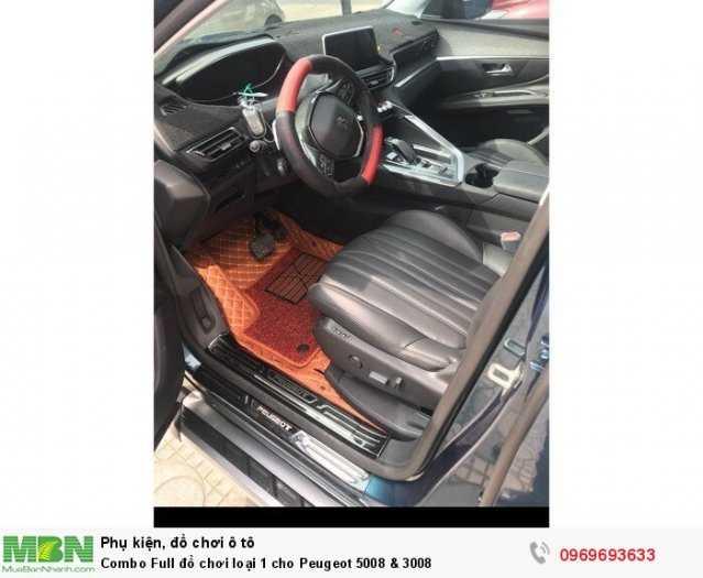Giá phụ kiện đồ chơi nội ngoại thất cho Peugeot 3008 & 5008