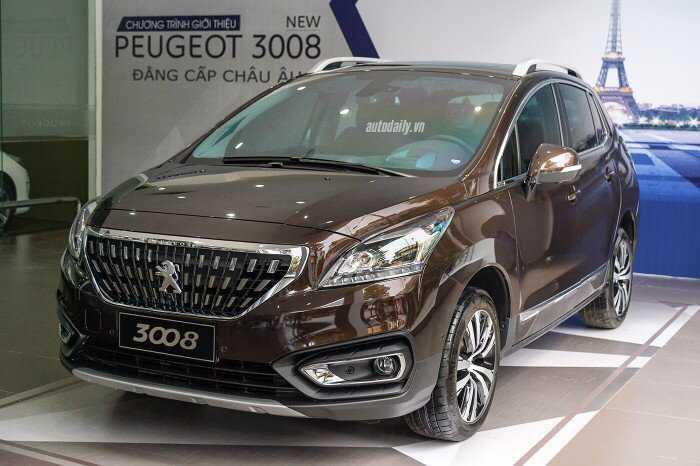 Giá xe peugeot 3008 Facelift New 2018 giảm 200tr