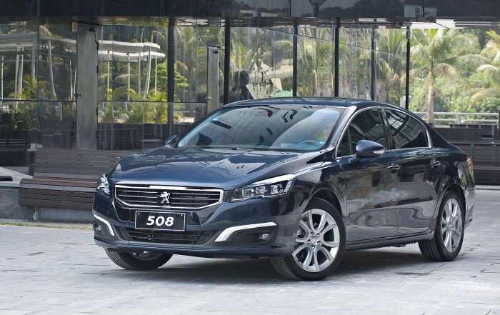 Giá xe Peugeot 508 nhập khẩu 2019 về Thái nguyên 2