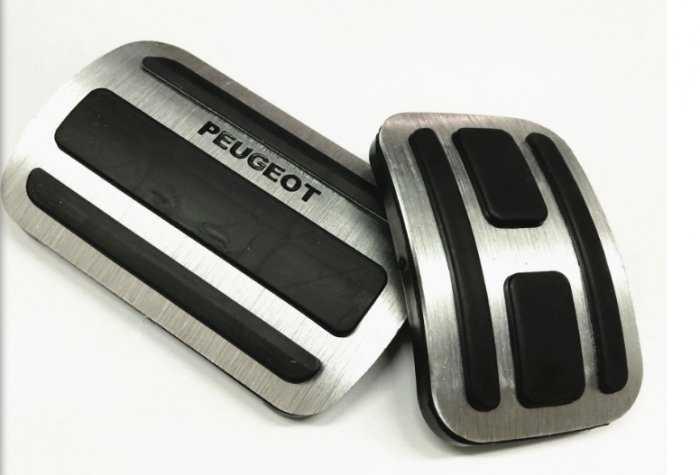 Ốp chân ga | Ốp Pedal | xe Peugeot 2019