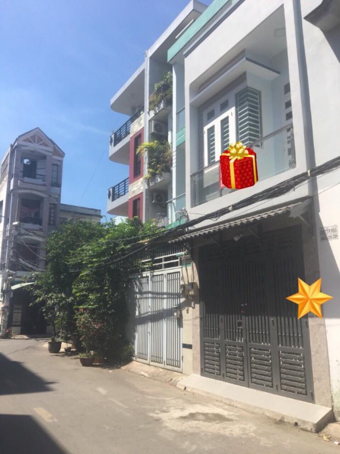 Cần bán nhà hẻm Phan Huy Ích, sổ hồng riêng, diện tích 84m2