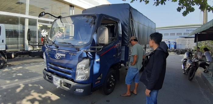 Giá xe tải Iz65 3.5 tấn thùng mui bạt - nhận làm phù hiệu cho khách hàng ở tất cả các tỉnh