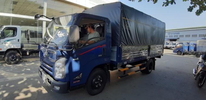 Giá xe tải Iz65 3.5 tấn thùng mui bạt - đóng thùng theo yêu cầu khách hàng