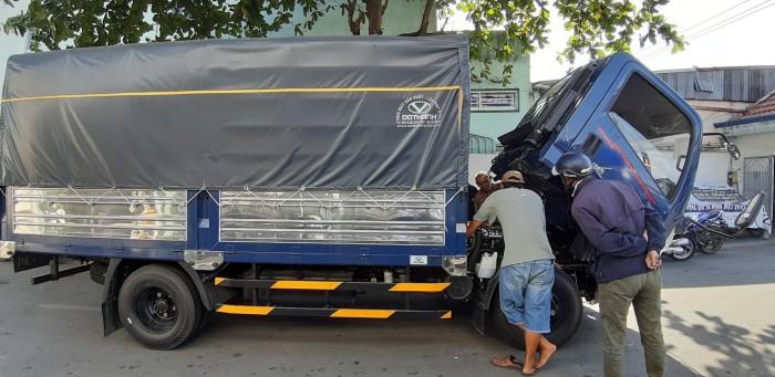 Giá xe tải IZ65 3.5 tấn thùng mui bạt - hỗ trợ vay mua xe trả góp đến 80%