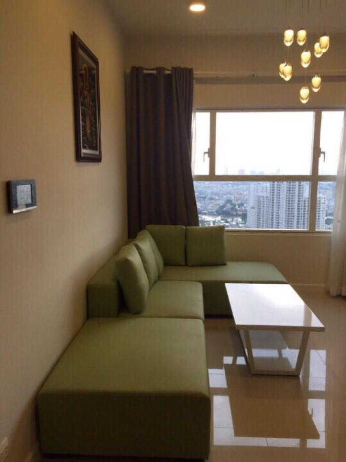 Căn hộ Sunrise City tầng cao, W3 khu central, 2PN, đầy đủ nội thất.