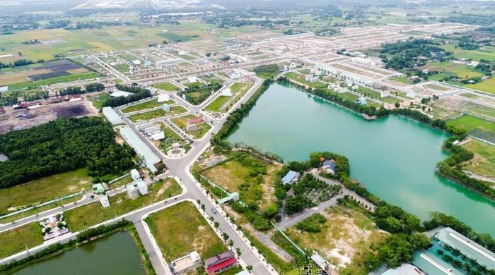 Đất nền dự án khu dân cư Villa Eden 80m2 đã có sổ hông riêng