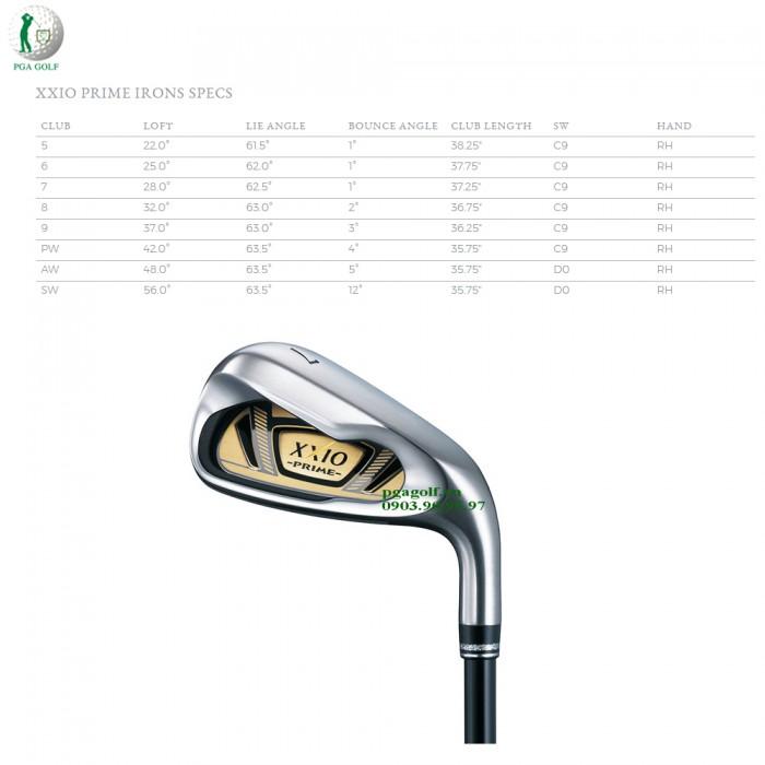 Bộ Gậy Golf XXIO Prime 10 SP1000 (New model)9