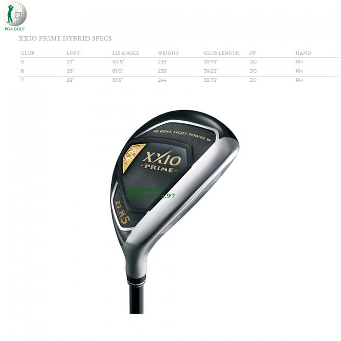 Bộ Gậy Golf XXIO Prime 10 SP1000 (New model)10