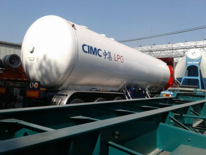 Bán bồn CIMC chở khí hóa lỏng 52 khối, giao ngay 3