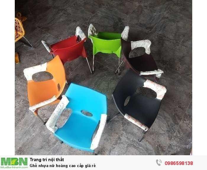 Ghế nhựa nữ hoàng cao cấp giá rẻ4