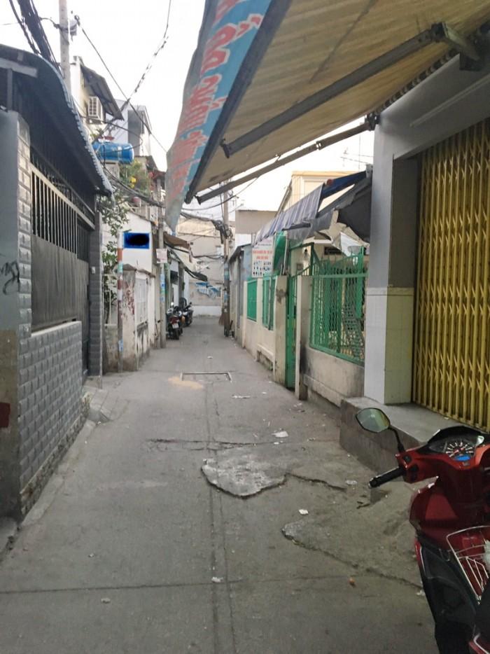 Bán nhà nát 85m2 hẻm 1115 Huỳnh Tấn Phát P. Phú Thuận Quận 7.